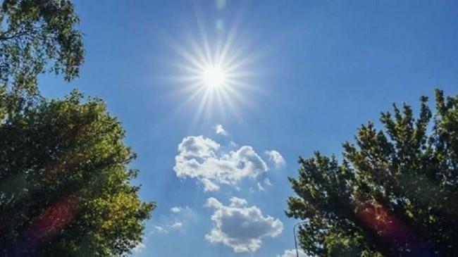 Moti sot në Maqedoninë e Veriut, me diell dhe i ngrohtë