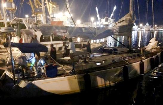 Shpëtohet jahti me shtatë turistë në Durrës