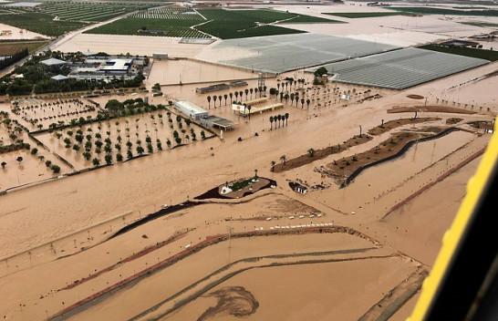 Përmbytet Spanja