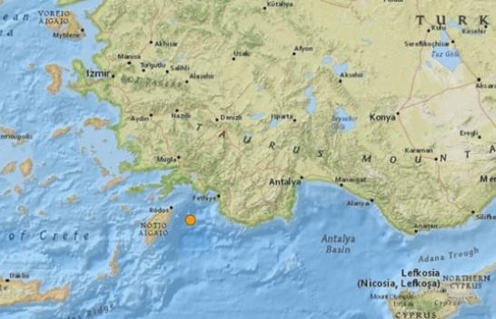Turqia goditet nga një termet i fortë, lëkundjet ndihen edhe në Greqi
