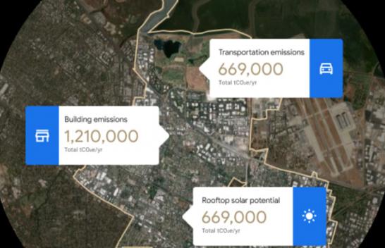 Google ofron një mjet qyteteve të kontrollojnë ndotjen