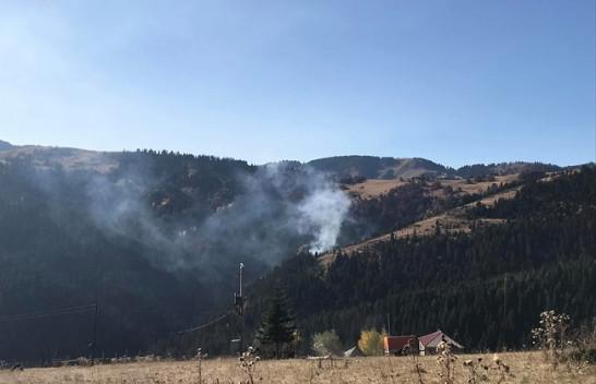 Vazhdojnë zjarret në fshatin Stankaj të Rugovës