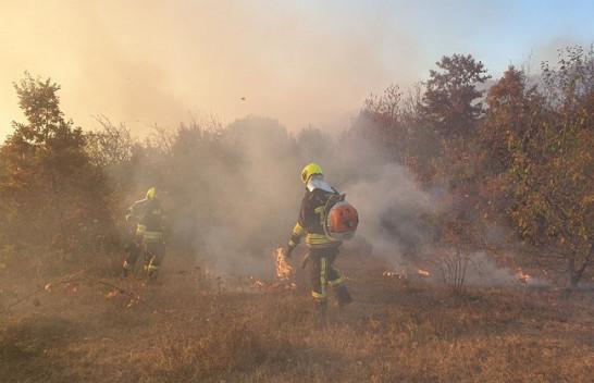 Zjarret s'kanë të ndalur, flaka përfshin malet e Meshinës në Kamenicë