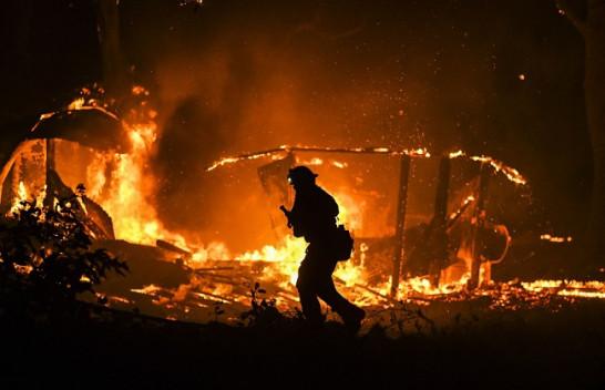 Pamje apokalipsi nga zjarret në Kaliforni