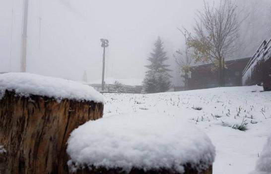 Pamje mahnitëse - bie bora e parë në Kroaci