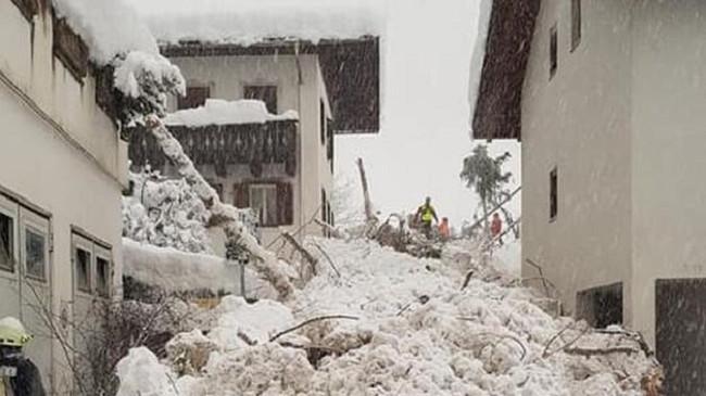 Çmendet moti në Italinë e veriut, në Val Martello bie një ortek