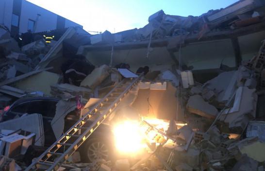 Pamje apokaliptike nga tërmeti i sotëm në Durrës