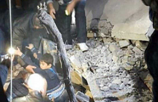 Mrekulli në Thumanë, nxirret i gjallë një fëmijë nga rrënojat