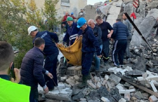 Shkon në 7 numri i të vdekurve nga tërmeti në Shqipëri