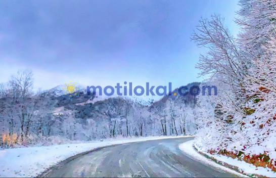 Dimri po troket, bie bora e parë në Brezovicë