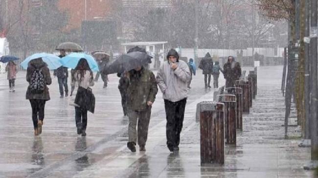 Nga dita e marte me reshje shiu dhe bore në Kosovë
