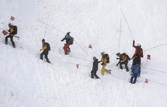 Shpëtohen gjashtë persona nga orteku në Alpet zvicerane
