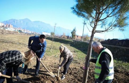 Nis aksioni për mbjelljen e pemëve, 100 pemë të reja përgjatë Lumit të Tiranës