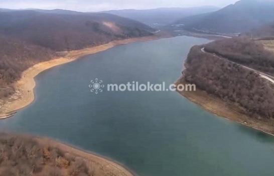 Pamje ekskluzive nga gjendja momentale e ujit në Liqenin e Badovcit