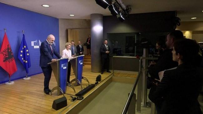 Përtej pritshmërive! Mblidhen një miliard e 150 milionë euro për Shqipërinë, Rama mbetet pa fjalë në Bruksel