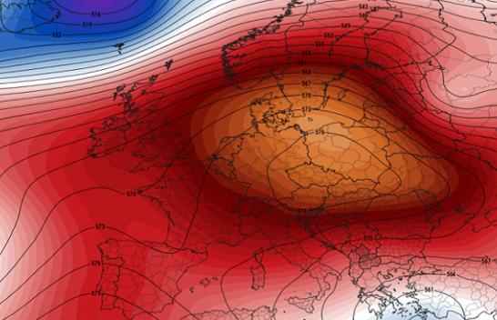Moti shumë i ngrohtë dhe i qëndrueshëm vazhdon edhe këtë javë në të gjithë kontinentin Evropian