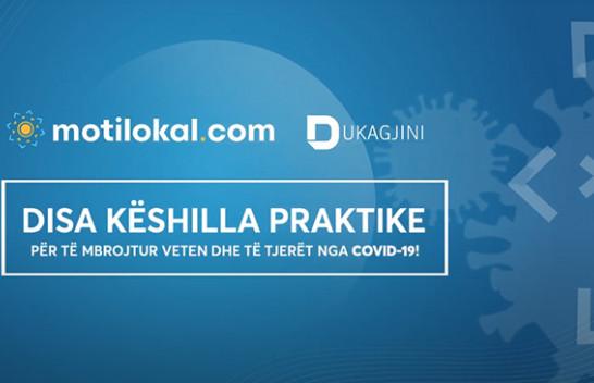 Motilokal.com dhe RTV Dukagjini me disa masa për të luftuar COVID-19!