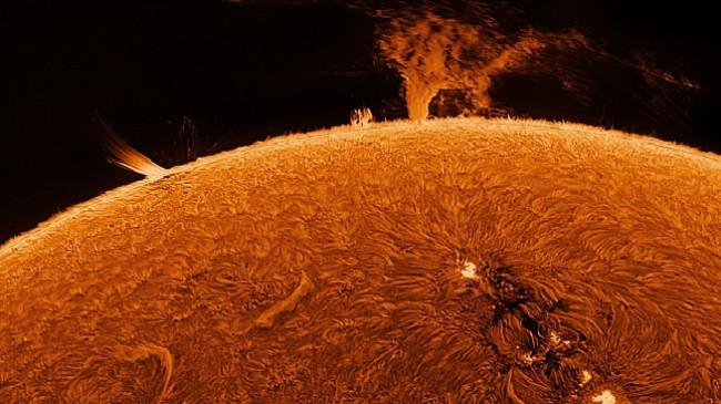 Imazhe mahnitëse të Diellit që tregojnë sipërfaqen e saj të zjarrtë
