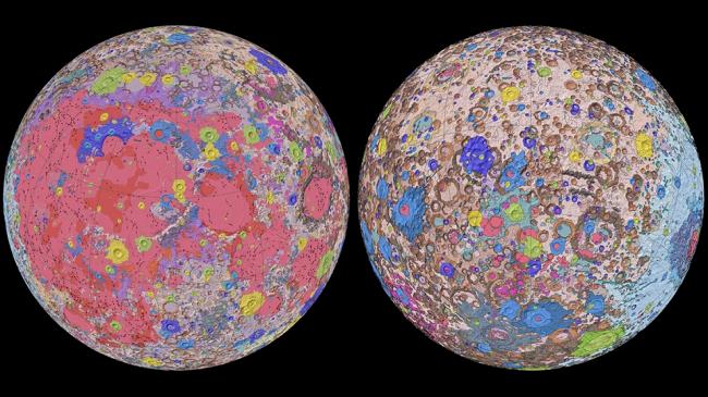 Harta e parë e plotë me ngjyra e Hënës zbulon se kur mund të zbarkojnë astronautët e NASA-s në vitin 2024