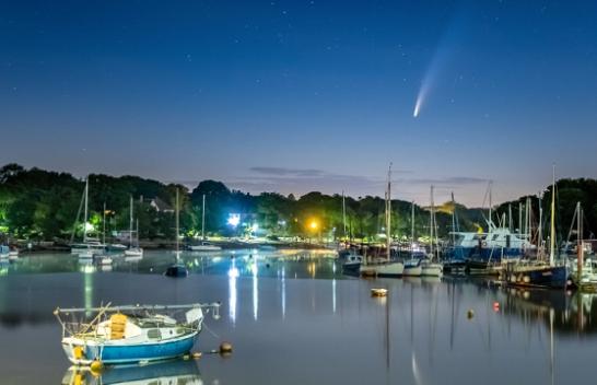 Imazhe mahnitëse të kometës Neowise që do të kthehet vetëm pas 7.000 vjetësh