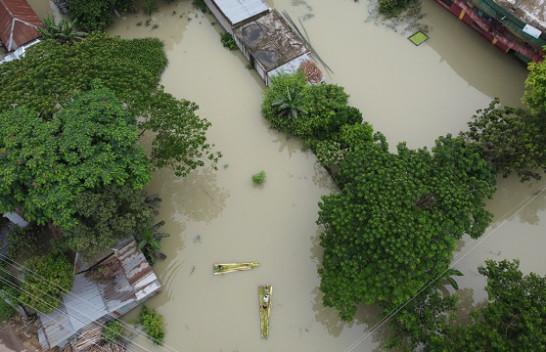 Në Fotografi: Përmbytjet shkatërruese në Azinë e Jugut