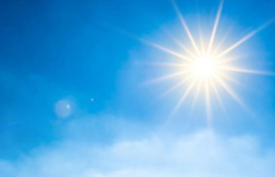 Mesatarja e diellit për muajin gusht në qytetet evropiane, edhe Prishtina në mesin e tyre