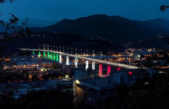 Përurohet ura e re në Gjenova