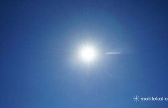 Mot me diell dhe i ngrohtë gjatë kësaj jave në Kosovë