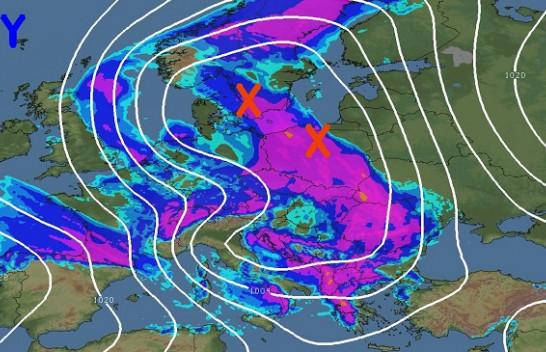 Meteorologu grek jep alarmin: Në fundjavë Shqipëria pritet të goditet nga stuhi të fuqishme dhe rrufe