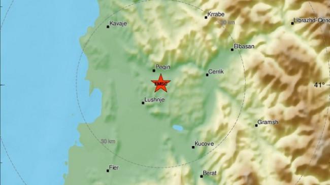 Sërish dridhet toka në Shqipëri