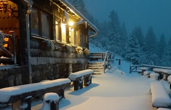 Vjeshta nis me borë në Slloveni [Foto]
