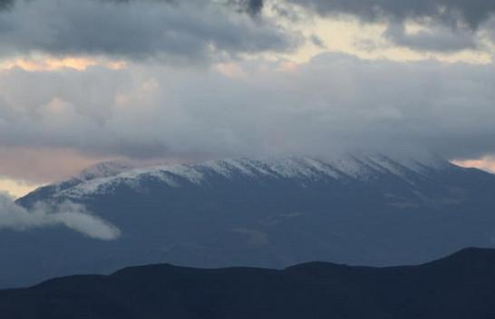Bie bora e parë në Kosovë [Foto]