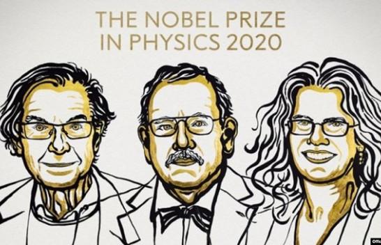 Shkencëtarët e vrimave të zeza fitojnë Çmimin Nobel për Fizikë