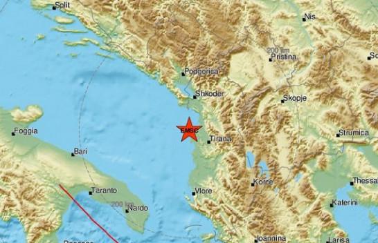 Shqipëria nuk gjen qetësi, sërish lëkundje tërmeti