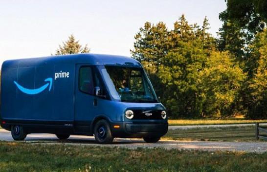 Amazon prezanton furgonin postier elektrik