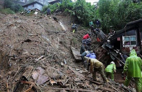 Mijëra njerëz braktisin shtëpitë në Filipine për shkak të tajfunit Molave