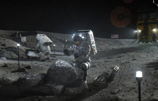 NASA: Ka ujë në Hënë