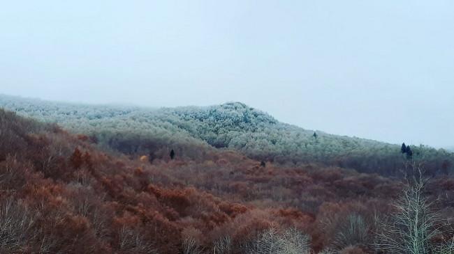 Reshjet e para të borës në viset malore të Maqedonisë së Veriut