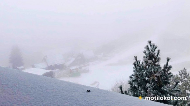 Pamje mahnitëse, bora zbukuron Brezovicën [Foto]