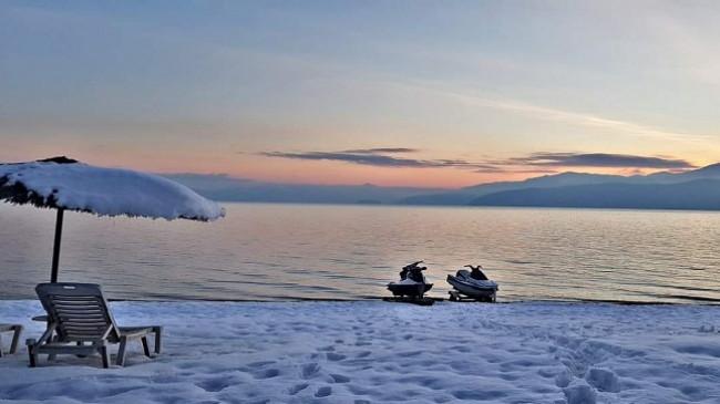 Liqeni i Prespës rritet për 14 centimetra