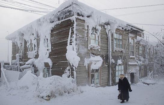 Siberia regjistron temperaturën më të ulët në 100 vitet e fundit