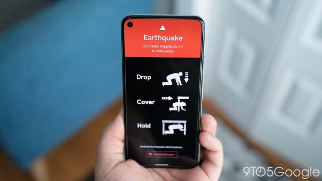 Tani tërmetin e paralajmëron Google