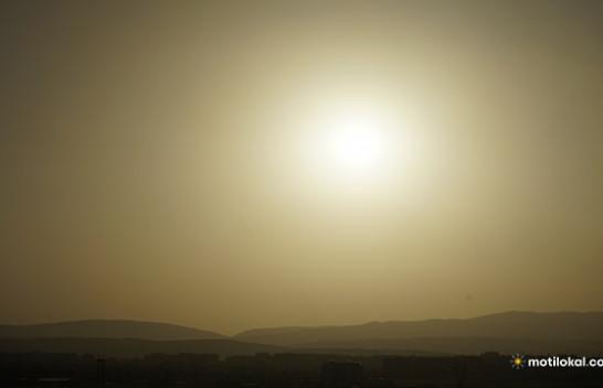 Ndikimi i masave të nxehta të ajrit nga Afrika Veriore ka rënduar cilësinë e ajrit në Kosovë