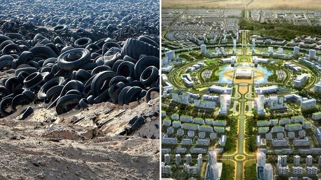 Kuvajti po transformon 'varrezat e gomave' në një 'qytet të zgjuar'