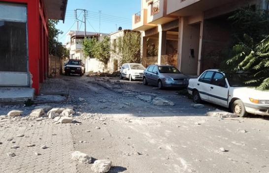 Tërmeti i fuqishëm godet Kretën në Greqi