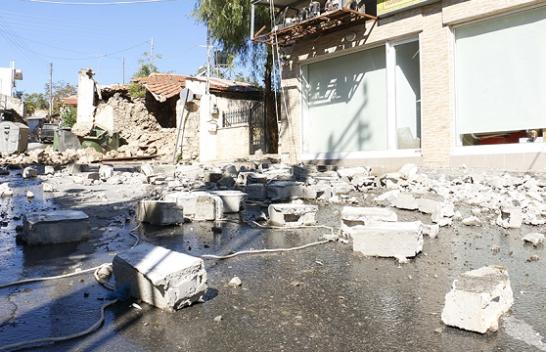 Pamje të frikshme nga tërmeti në Kretë, një i vdekur dhe dëme materiale [Foto]