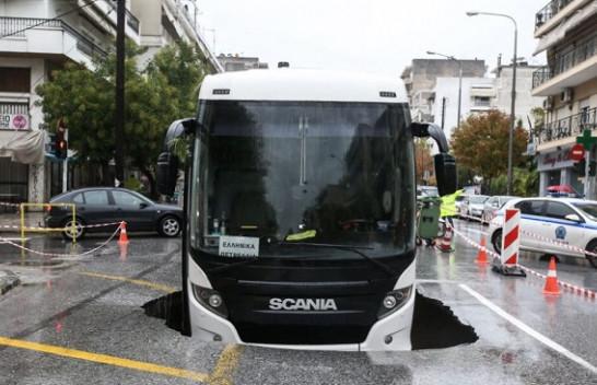 Përmbytje dhe kaos në Greqi, çahen edhe rrugët nga moti i ligë